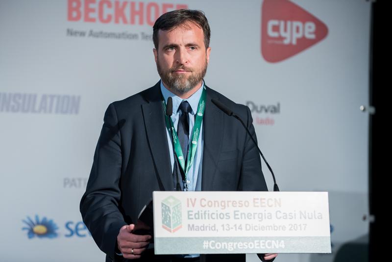 Alberto Jiménez. Bloque de ponencias 3. IV Congreso Edificios Energía Casi Nula 2017.