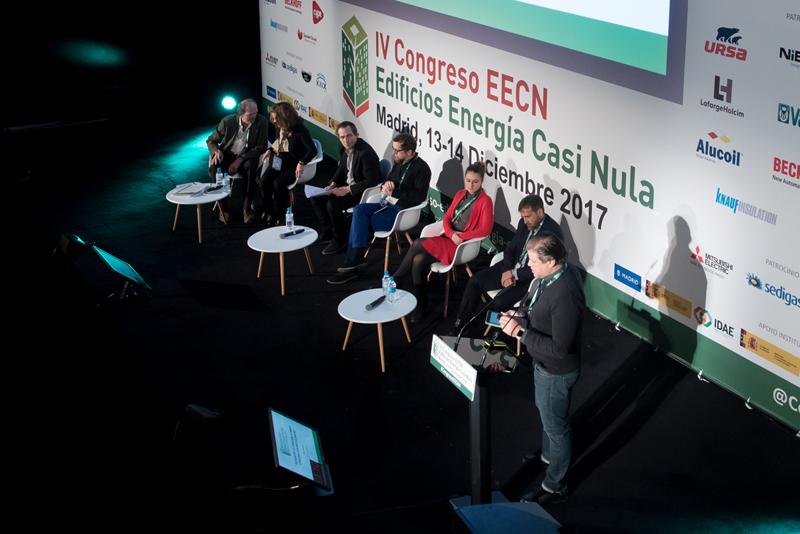 Alejandro Bosqued, moderador. Bloque de ponencias 3. IV Congreso Edificios Energía Casi Nula 2017.