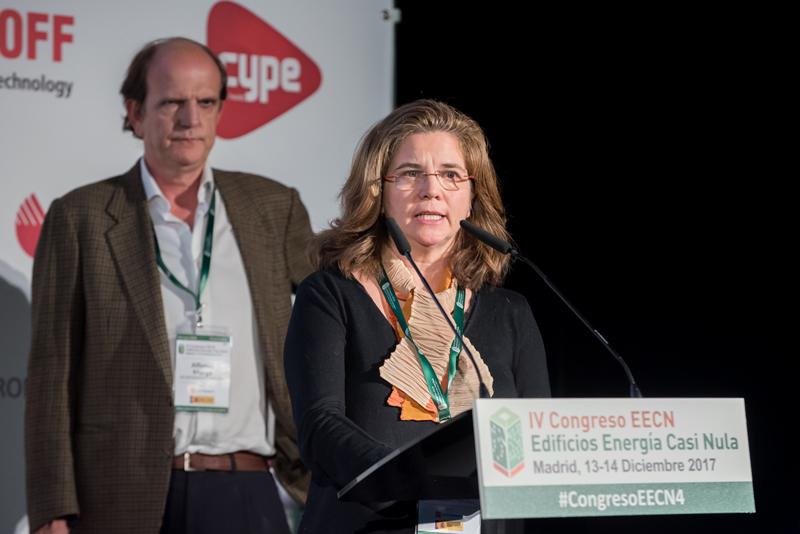 Cristina Moreno y Alfonso Murga. Bloque de ponencias 3. IV Congreso Edificios Energía Casi Nula 2017.