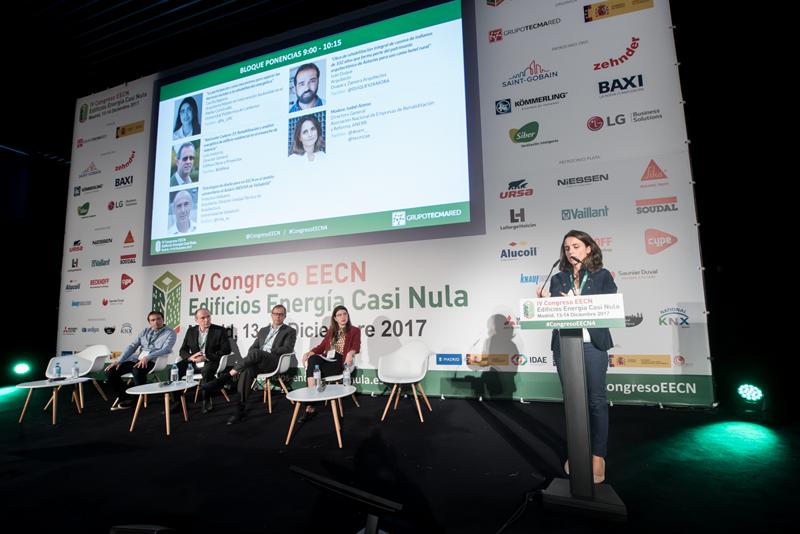 Isabel Alonso. Moderadora. Bloque de ponencias 4. IV Congreso Edificios Energía Casi Nula 2017.