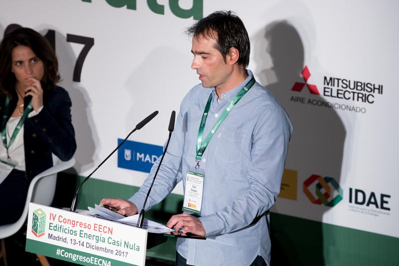 Iván Duque. Bloque de ponencias 4. IV Congreso Edificios Energía Casi Nula 2017.