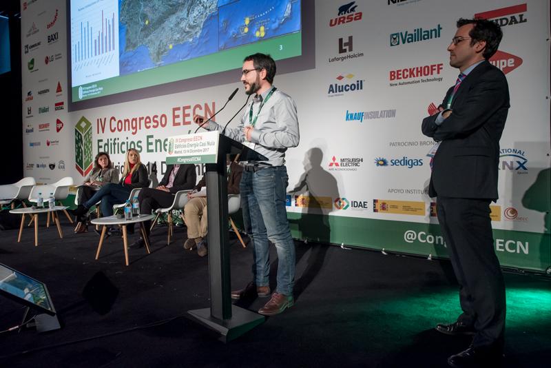 Juan José del Valle y Miguel Ángel Amores.Bloque de ponencias 5. IV Congreso Edificios Energía Casi Nula 2017.