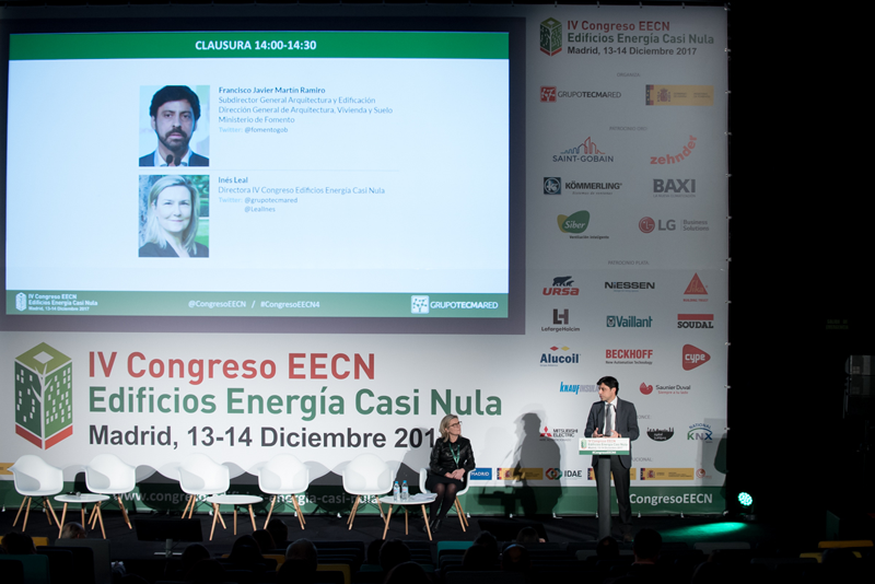 Clausura IV Congreso Edificios Energía Casi Nula 2017.