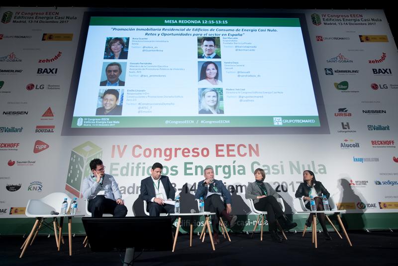 Mesa redonda 1. IV Congreso Edificios Energía Casi Nula..