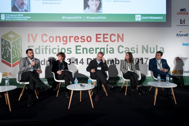 Mesa redonda 3. IV Congreso Edificios Energía Casi Nula 2017.