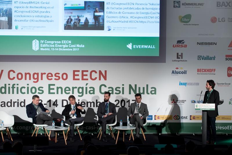 José Luis López, moderador. Mesa Redonda 4. IV Congreso Edificios Energía Casi Nula 2017.