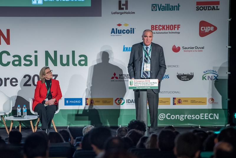 Antonio Aguilar. Inauguración del IV Congreso Edificios Energía Casi Nula 2017.