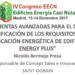 Herramientas avanzadas para el diseño de EECN, verificación de los requisitos del CTE y la certificación energética de los edificios con Energy Plus