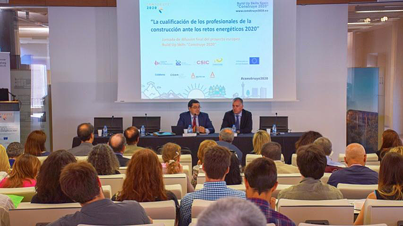 Con un presupuesto de más de 800.000€, los seis socios españoles trabajarán, durante los tres próximos años, por el impulso del empleo 'verde' en la industria, fomentando la capacitación y acreditación profesional en Eficiencia Energética (EE), Sistemas de Energía Renovable (RES) y Edificios de Energía Casi Nula (nZEB).