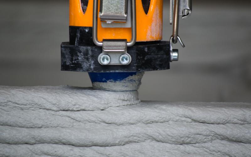 Fabricación de nuevos materiales de construcción con tecnología de impresión 3D.