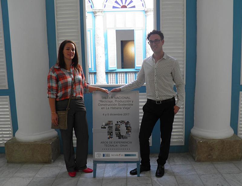 Tecnalia ha celebrado 10 años de colaboración con La Habana Vieja.