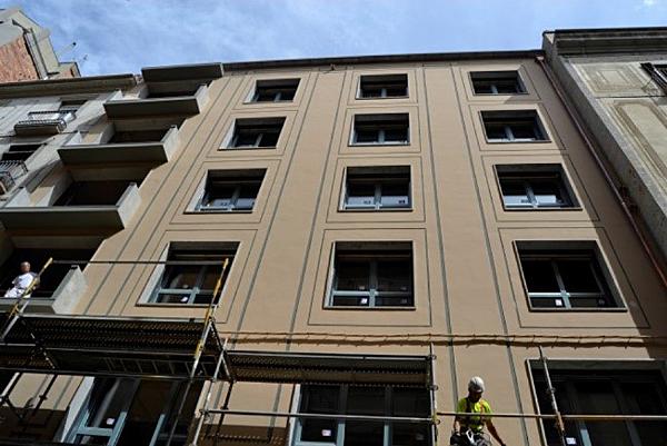 Figura 2. Imagen de la fachada, posterior a la rehabilitación.
