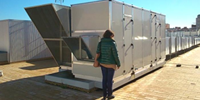 Potencial de los sistemas de ventilaci n natural pasiva en for Calor azul consumo mensual