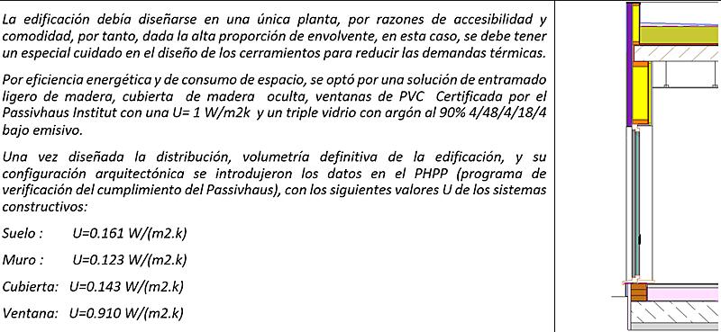 Figura 5. Sección constructiva.