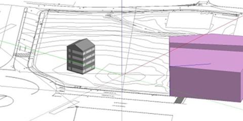La exploración de estrategias de diseño eficientes como parte del diseño integrador en un edificio EECN en la ciudad de Lugo