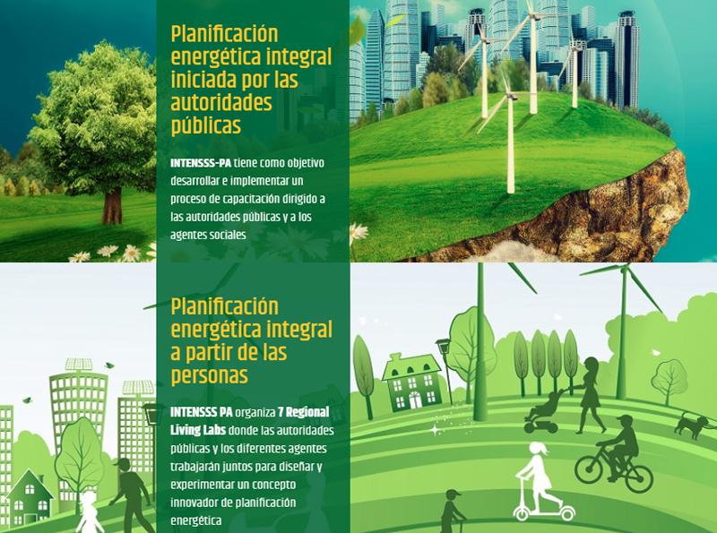 Proyecto Europeo INTENSSS-PAintegra la energía en los planes urbanísticos de las ciudades