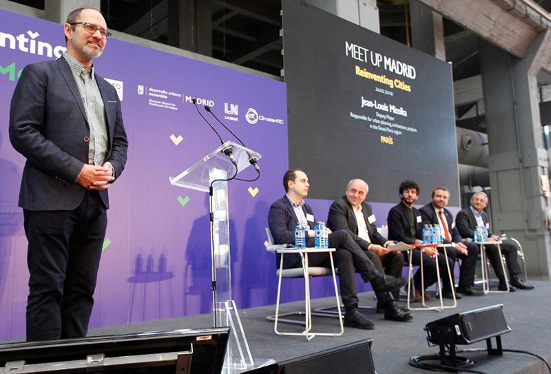 Presentación del concurso mundial Reinventing Cities en La N@ve, Madrid