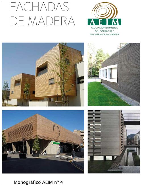 Publicación de AEIM sobre fachadas de madera