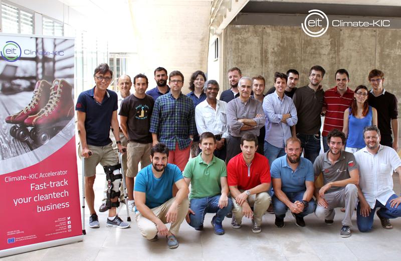 Participantes en la última convocatoria Climate-KIC Accelerator, cuya convocatoria está abierta hasta el 6 de marzo.