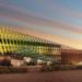 Onyx Solar integra vidrio fotovoltaico multicolor en la fachada del centro de I+D de DEWA