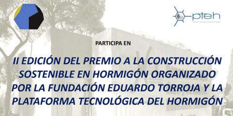 Abierta inscripción para la Segunda Edición del Premio a la Construcción Sostenible en hormigón