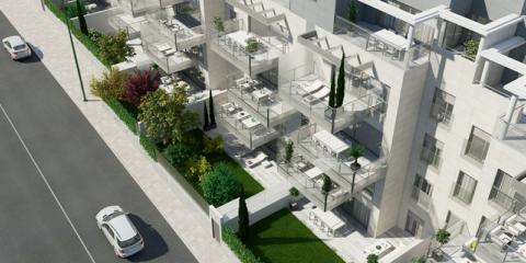 Edificios con solución centralizada de bomba de calor y descentralizada de ventilación con recuperación de calor