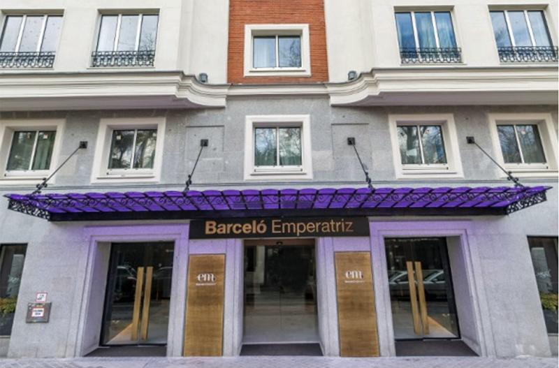 Figura 1. Fachada del Hotel Barceló Emperatriz.