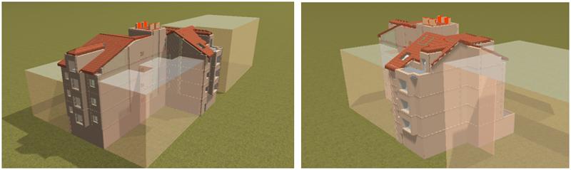 Figura 1. Vivienda Simulación Cype.