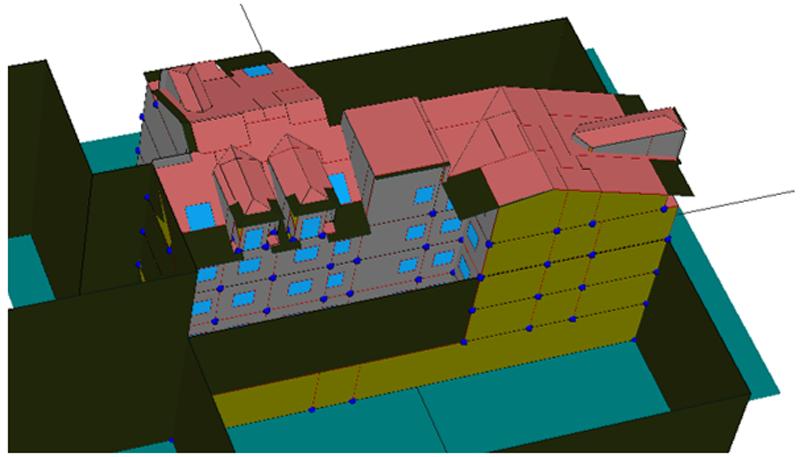 Figura 2. Vivienda Simulación HULC.