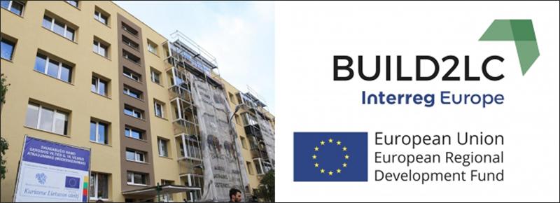 Edificio en Vilna (Lituania) en el marco delproyecto BUILD2LC.