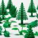 LEGO lanza la serie LEGO sostenible con elementos hechos de plástico de origen vegetal procedente de la caña de azúcar