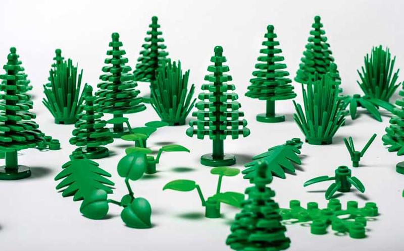 El Grupo Lego se compromete a utilizar exclusivamente materiales sostenibles en 2030.