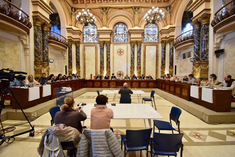 Pleno del Ayuntamiento de San Sebastián