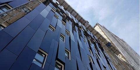 El edificio de consumo casi nulo Torre Bolueta en Bilbao, premiado en Munich por el instituto alemán Passivhaus
