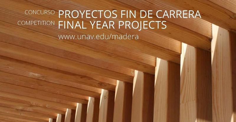 VI edición del Concurso Cátedra Madera