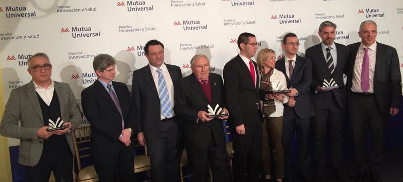 Cosentino, reconocida por su política innovadora de Seguridad y Salud en la III Edición de los Premios Mutua Universal