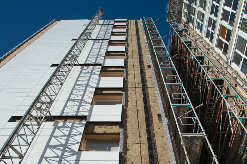 Rehabilitación fachada barrio Txantrea