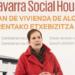 Navarra pone la primera piedra de un nuevo edificio de vivienda pública de consumo de energía casi nulo