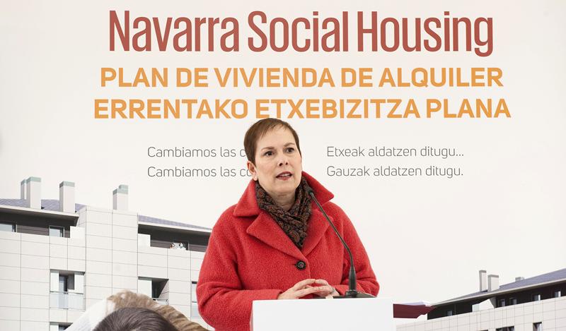 Navarra pone la primera piedra del primer edificio de vivienda pública que se construye bajo el estándar Passivhaus