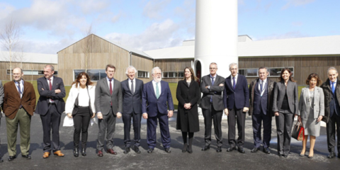 Norvento presenta CIne, un edificio de energía cero e integrado con el entorno