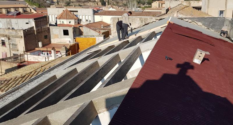 Onduline rehabilita el Monasterio Santa Clara Tortosa