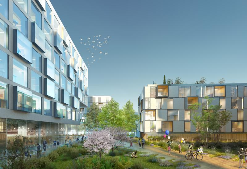 Lignes de Vie es la combinación de una arquitectura singular y de una ubicación privilegiada