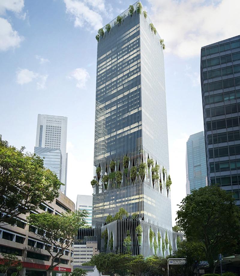 Rascacielos Singapur