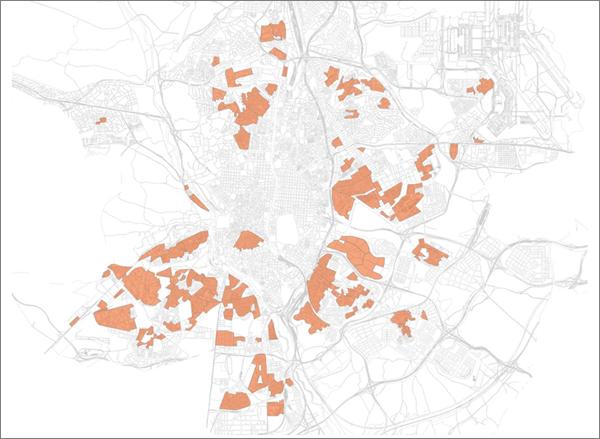 Figura 2. Mapa de APIRUs.