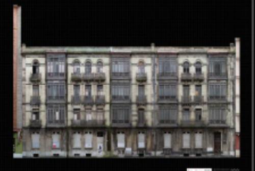 Figura 4. Fotogrametría de fachada