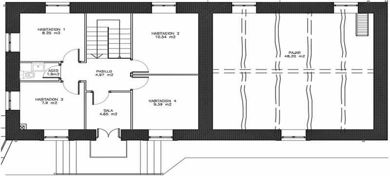 Figura 4. Planta 1 original.
