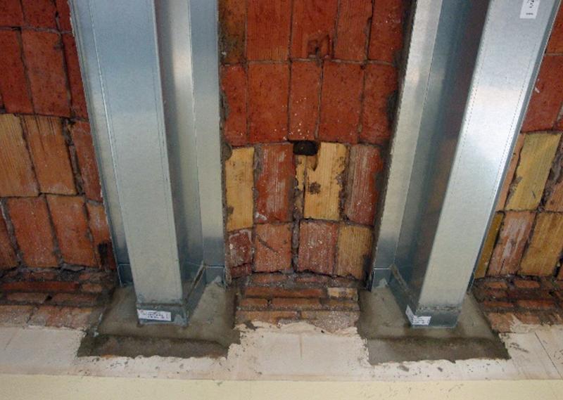 Figura 5. Forjados con viguetas de hormigón reforzados y bovedillas de cerámica.
