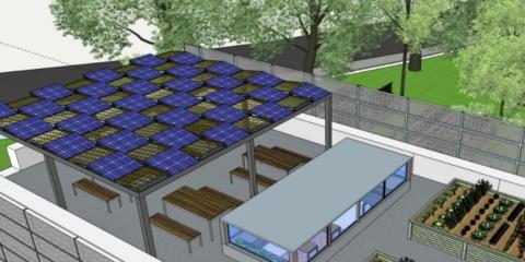 Remodelación del edificio de mantenimiento de la UPM para la sede del centro de innovación en tecnología para el desarrollo humano (ITDUPM)