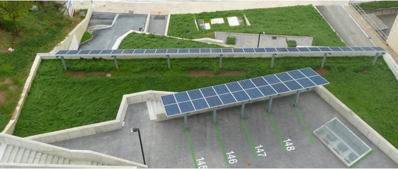Figura 8. Instalación fotovoltaica.