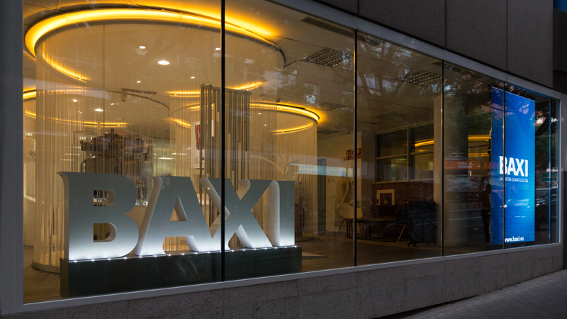 showroom & oficinas en Madrid de Baxi